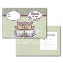 Cartão Convite com 10un (10x7,5cm) LC-47 Litocart - Litocart