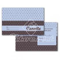 Cartão Convite com 10un (10x7,5cm) LC-54 Litocart - Litocart