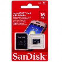 Cartão de Memória 16 GB Sandisk -