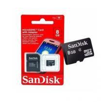 Cartão de Memória 8GB Sandisk -
