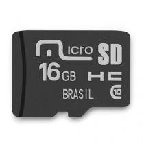 Cartão de Memória Classe 10 16GB Mirage - MC142 - Mirage - Mirage