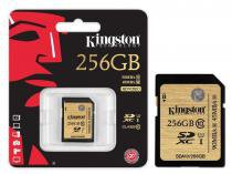 Cartao de memoria classe 10 kingston sda3/256gb sdxc 256gb uhs-i u3 ultimate -