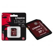 Cartão de Memória Kingston Classe 10 UHS-I U3 Ultimate 128GB - SDA3/128GB -