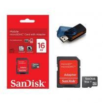 Cartão de Memória Micro SD SanDisk 16GB -