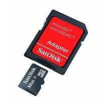 Cartão de Memória Micro SD SanDisk 32GB -