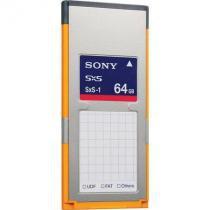 Cartão de memória sony 64gb sxs-1 (sbs-64g1a) -
