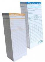 Cartão de Ponto para Relógio Cartográfico (Cento) - Bits