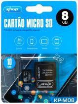 Cartão Micro SD 8GB Knup KP-M08 -