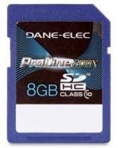 Cartão SD 8Gb Dane-Elec Proline 200x Classe 10 -