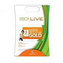 CartãO Xbox Live- 3 Meses - Microsoft