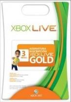 Cartão Xbox Live Gold 3 Meses - 1