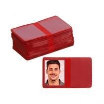 Carteirinha 3x4 - Vermelha - Coralmix