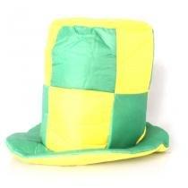Cartola Quadriculada Verde e Amarela - Aluá Festas