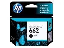 Cartucho de Tinta HP 662 Preto Original  -