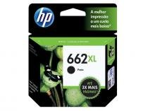 Cartucho de Tinta HP 662XL - Preto Original