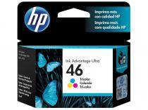 Cartucho de Tinta HP Colorido 46 - Original