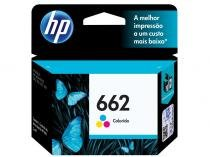 Cartucho de Tinta HP Colorido 662 Original P/ - HP 2516, 3516, 3546, 2546, 1516, 4646