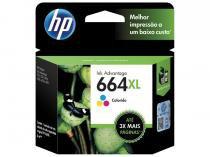 Cartucho de Tinta HP Colorido 664 XL - Original