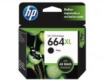 Cartucho de Tinta HP Preto 664 XL Original -