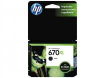 Cartucho de Tinta HP Preto 670 XL - Original