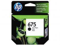 Cartucho de Tinta HP Preto 675 - Original
