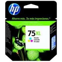 Cartucho de Tinta HP Preto 75 XL - Original