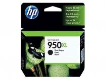 Cartucho de Tinta HP Preto 950 XL Original - P/ 8600 Plus 8610 8620 276dw 8100 251dw