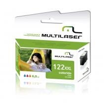 Cartucho de Tinta Multilaser Compatível 122 com HP Color CO339 - Multilaser