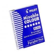 Cartucho De Tinta Pilot Caneta Parallel Pen - Azul 12 -