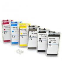 Cartuchões Bulk Ink T610 T1100 T1200 T710 T770 T620 T790 T1120 T1300 T2300 T1120 HP72 VISUTEC -