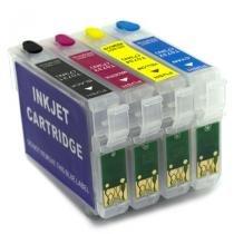 Cartuchos recarregáveis para t40w e tx550 (vazios) - Visutec