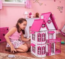 Casa de Bonecas Escala Polly Modelo Mirian Sonhos - Darama -