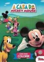 Casa do mickey mouse, a - livro para colorir - Difusao cultural do livro