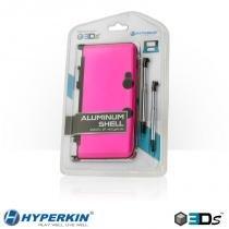 Case de Plastico e Aluminio para 3DS - Rosa - Hyperkin -