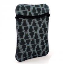 604b8e266 Case Env. Duplaface Tablet 10.1 E Ipad - Gato Preto - Reliza -