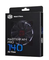 Case fan  cooler master -  masterfan pro 140 air flow - mfy-f4nn-08nmk-r1 - Cooler master