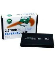 Case gaveta para HD de notebook 2,5 USB 2.0 SHINKA -