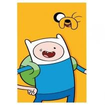 Case Para Celular Elfo Adventure Time Finne e Jake Para Galax S4 Mini - Ref 17720 - ELFO