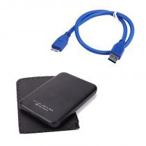Case para HD 2.5 Notebook USB 3.0 - Yes shop