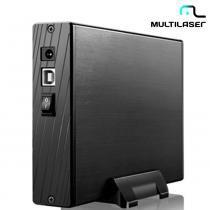 """Case Para HD 3,5"""" Padrão SATA de Até 3TB Sem Cooler GA118  Multilaser -"""