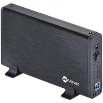 Case para HD Externo 3,5 Polegadas Alumínio com Chave I/O - Vinik - Vinik