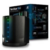 """Case para Quad HD 3,5"""" com RAID/JBOD Nexstar HX4R - NST-640S3R-BK Vantec -"""