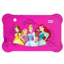Case para Tablet 7 Pol. Disney Princesas Rosa PR939 Multilaser -