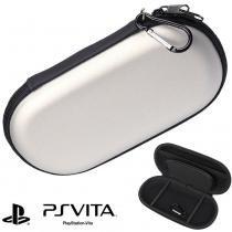 Case sony ps vita, psp 1000, 2000, 3000 capa anti-choque prata cbrn1033 - Commerce brasil
