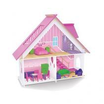 Casinha de boneca com moveis junges 410 -