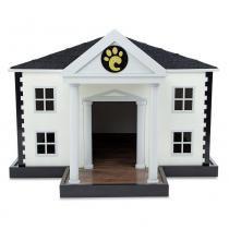 Casinha para Cachorros Pequeno e Médio Porte Branca 7006 - Carlu Carlu