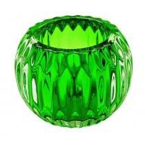 Castiçal De Vidro Verde - Bc0024c - Btc