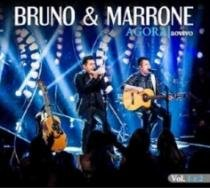 CD Bruno  Marrone - Agora: Ao Vivo Vol 1 E 2 (2 CDs) - 2014 - 953093