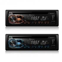 Cd MP3 player automotivo Pioneer DEH X1880 USB dual collor -