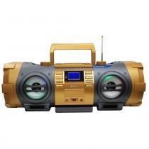 Cd player lenoxx bd-1500 com mp3, bluetooth, entrada usb, entrada auxiliar e rádio fm  100 w -